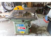 Wadkin BGS12 Sliding Table Saw Bench with brake. Ex High School, complete, nationwide delivery.