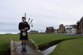 Piper For Hire in St Andrews   Weddings, Burns Nights, Funerals, Formal Dinners   East Coast Piper
