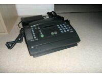 Philips HFC 10 Telephone-Fax-Answering Machine