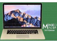 APPLE MACBOOK PRO RETINA DISPLAY LAPTOP 15' QUAD CORE i7 2Ghz 8GB RAM 256GB SSD MINKO MACS TOTTENHAM