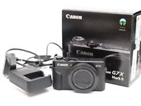 Canon G7X MK2 Camera ideal for vlog
