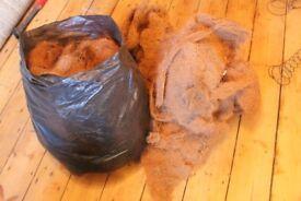 Large quantity of Edwardian horse hair