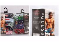 Guess 100% cotton Men's Boxer With Back Pocket for wholesale only.