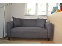 Super comfortable sofa for two!
