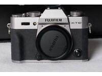 Fuji X-T10 Body Only Excellent Condition