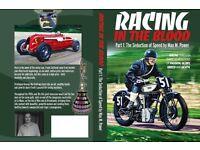 Racing In The Blood, Book, Brooklands, Isle Of Man TT, Norton, Bentley, Le Mans