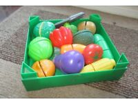 Early Learning Centre Play Fruit & Vegetable set