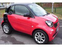 016/65 smartcar passion new shape
