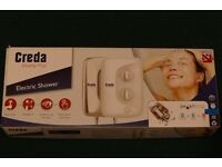 Creda Vitality Plus 8.5kW White Electric Shower with Twin Terminal Block and Dual Water Entry
