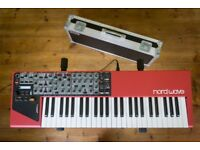 Nord Wave Synth Synthesiser Keyboard w. Custom Made Flight Case