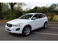 Nov 2010 Volvo XC60 R-Design D3 Automatic White Full Service History Excellent Condition!