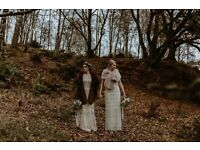 Never been worn: Unique Boho Wedding Dress