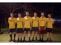 KENNINGTON 5 A-SIDE FOOTBALL LEAGUE TUESDAY - BEST PRICES IN LONDON