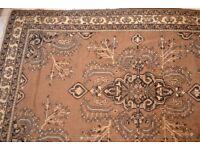 Large handmade persian rug 300cm by 200cm £75