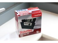 1.44 MB Diskettes – original package by Imation