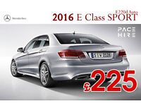 BRAND NEW CAR - Mercedes E Class SPORT Auto - PCO - Rent/ Hire - TAXI - Executive chauffeur UBER