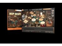 Toontrack Hip Hop EZX for EZDrummer 2 (boxed DVD version)