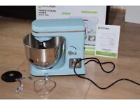 KITCHEN 1000W 5LTR MIXER DUCK EGG BRAND NEW