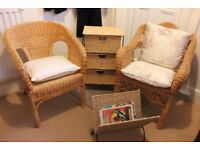 Wicker Conservatory Furniture Set
