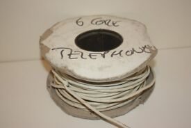 3 PAIR 6 CORE TELEPHONE CABLE