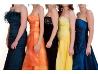 200+ Ex-Hire Prom/Special Occassion Dresses & Accessories for sale.