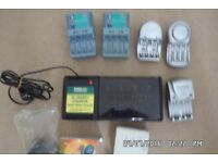 job lot of around 20 chargers used but good