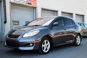 2012 Toyota Matrix TOURING TOIT MAGS FOG BAS KM'S ONE OWNER FULL