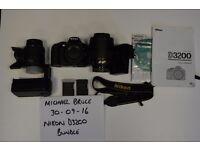 Nikon D3200 Camera Bundle