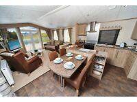 Brand New Carnaby Helmsley Lodge static caravan for sale at Percy Wood Country Park, Northumberland