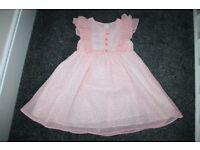 Mothercare pink dress 2 - 3 y