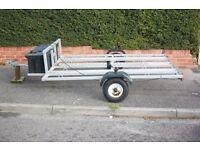 motorbike trailer for three bikes