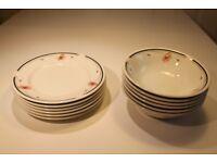 Johnson Brothers Crockery – 6 bowls: 6 plates