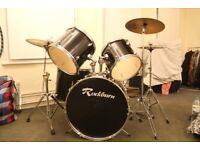 Rockburn drumkit with SABIAN cymbals