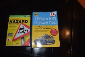 Hazard Perception CD and Highway Code book