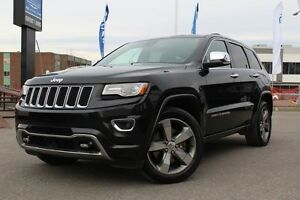2014 Jeep Grand Cherokee OVERLAND PLUS 4X4 *CUIR/TOIT PANO/GPS/G