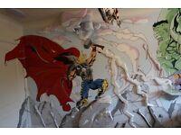 Mural wall art In Staffordshire & uk / Uk's top Mural artist / children bedrooms Wall Murals