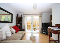 1 bed garden flat, which has a wonderful garden accessed from both the reception room & the bedroom