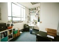 Bright, light private studio/office available for rent in Bristol: Deben House - studio G03