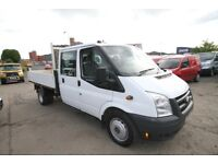 FORD TRANSIT 115 T-350 DOUBLE CAB TIPPER – 61-REG