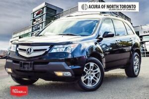 2009 Acura MDX Tech 5sp at One Owner| Local Trade| Navigation