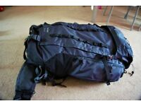 Backpack 70L Grey, camping/tracking/traveling/backapacking