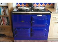 Gas AGA - 2 Oven Blue