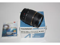 Tamron Lens 18-200mm For Canon