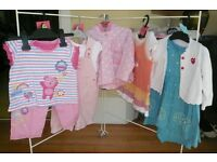 Girl 9-12 Months – 7 Outfits, plus other items, 15+ Items in total £10