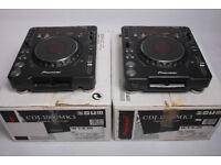 PIONEER CDJ 1000MK3 x2 and PIONEER DJM700K BLACK EDITION