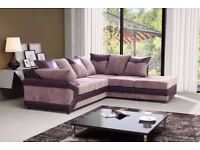 🔰🔰 SAME DAY DELIVERY 🔰Large Dino Jumbo Cord Corner Sofa Suite or 3 and 2 Set- SAME DAY!