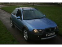 2003, ROVER 25 STREETWISE,1.4, NEW MOT, GOOD COND, FREE WARRANTY FREE WARRANTY PRICED TO SELL!