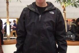*Excellent Condition* North Face Women's Black Medium Quest Waterproof Jacket
