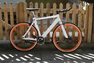 Special Offer Aluminium Alloy Frame Single speed road bike fixed gear racing fixie bicycle aww