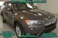 2012 BMW X3 xDrive28i (A8), 4WD, LEATHER, BLUE TOOTH, NO ACCID